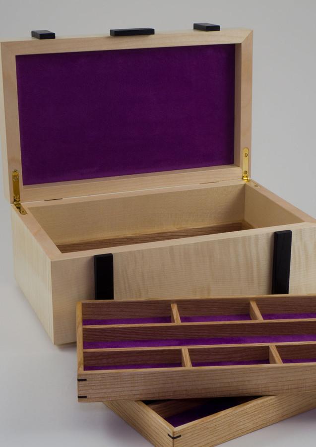 Sycamore jewellery box