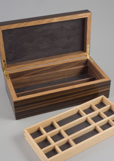 Small jewellery box with tray