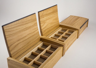 jewellery box with lift up lids