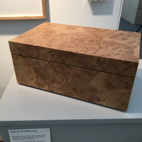 Spotlight on - oak burr jewellery box