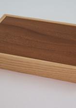 Earring wooden jewellery box
