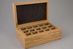 Oak jewellery box - Flow II