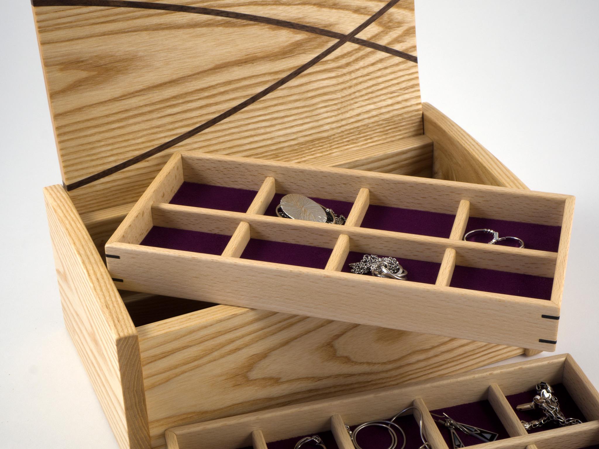 Ash jewellery box