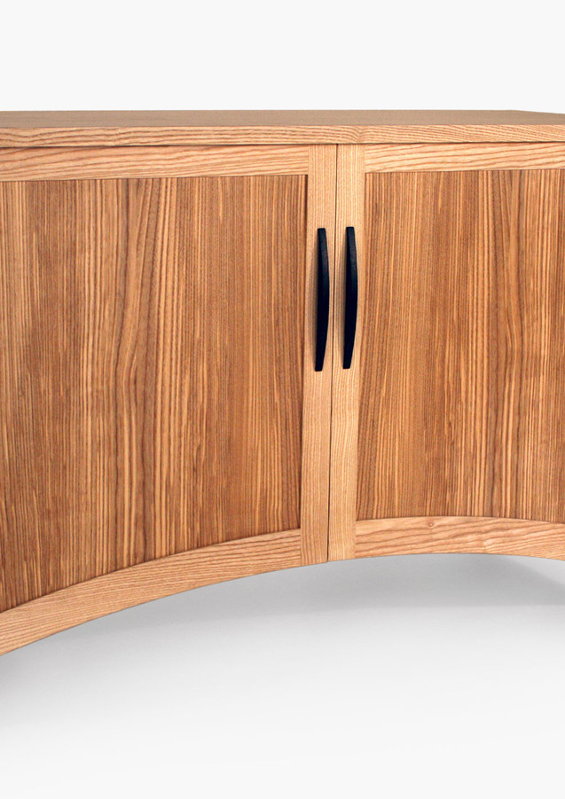 Sideboard made from ash and olive ash.
