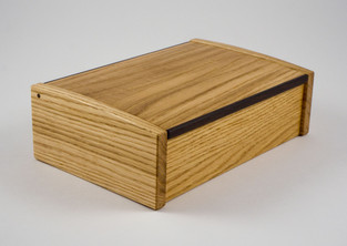 bespoke oak jewellery box