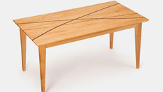 Oak Winding paths coffee table