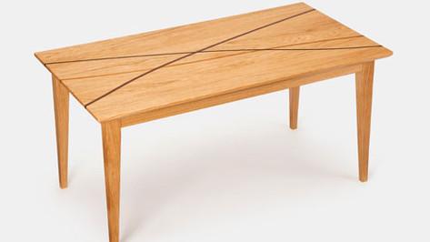 Oak Winding paths coffee table