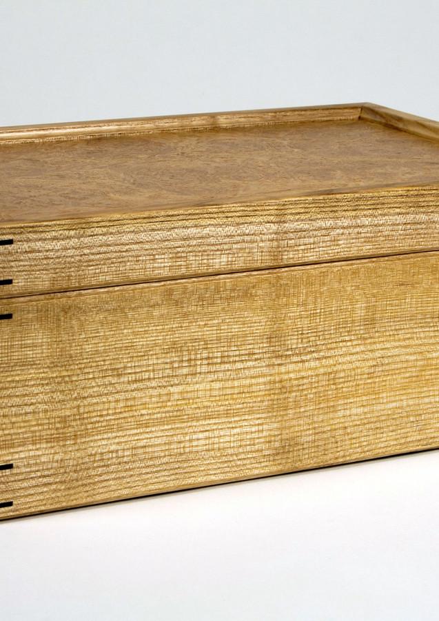 Jewellery box made of ash