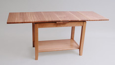 Oak extending coffee table