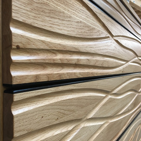 'Flow' chest of drawers