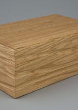 Jewellery box made from oak
