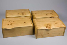 Quercus Four - English oak jewellery box
