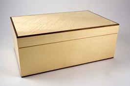 Ripple sycamore jewellery box