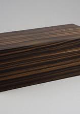 Small macassar ebony jewellery box