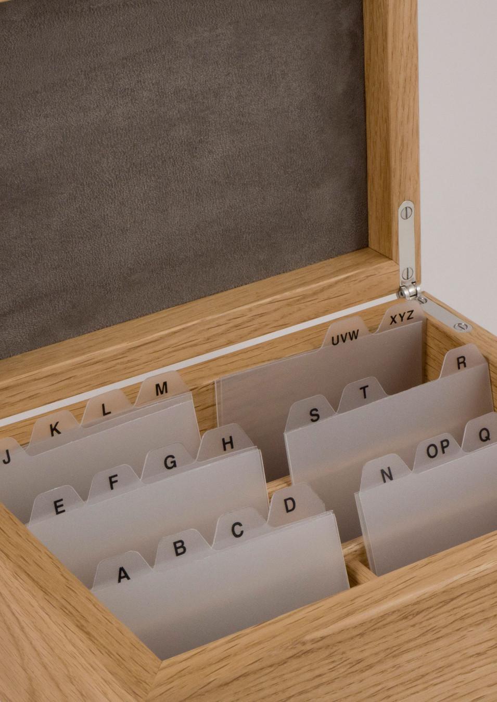 Bespoke wooden storage box