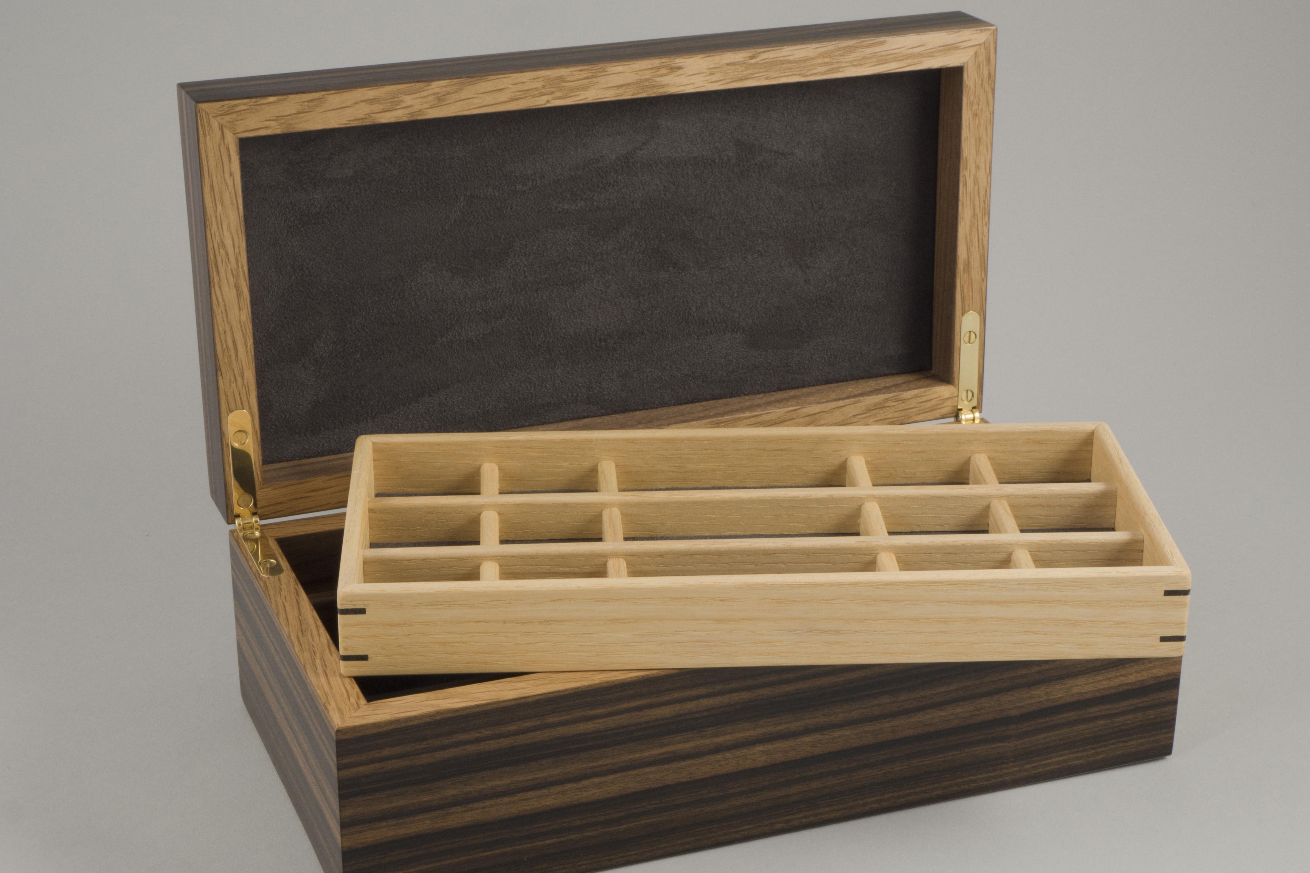 Macassar ebony jewellery box
