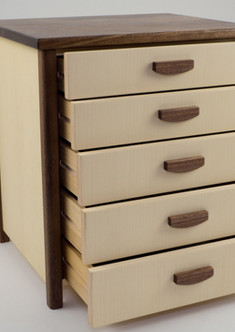 Small chest of drawers for jewellery