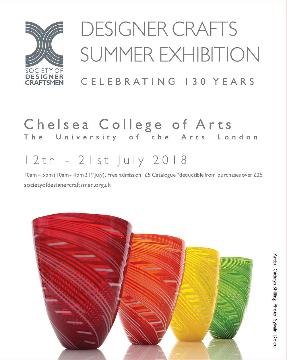 SDC Designer Crafts Summer Exhibition 2018