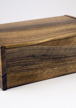 Jewellery box made from English walnut