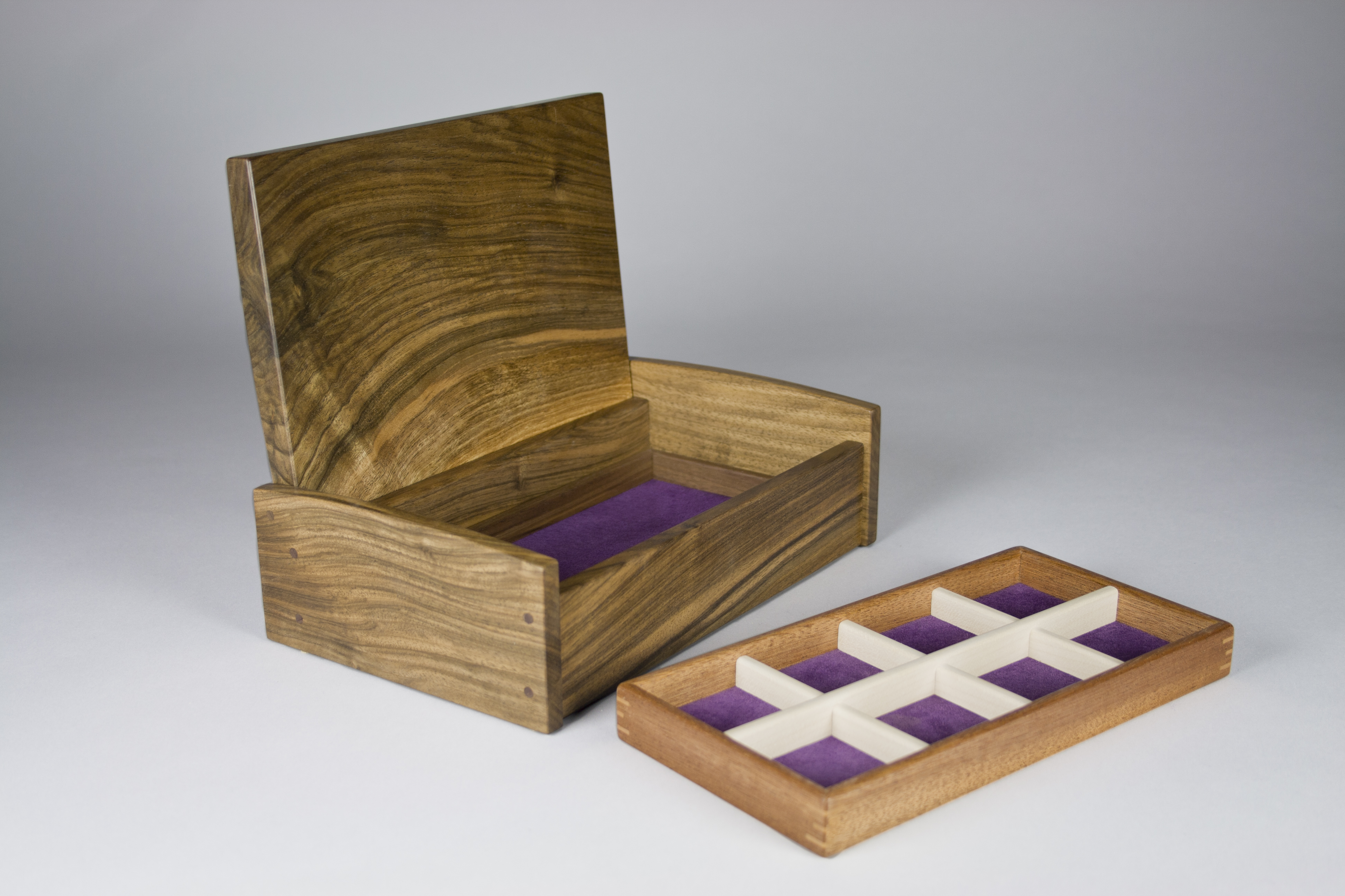 Jewellery box and storage tray