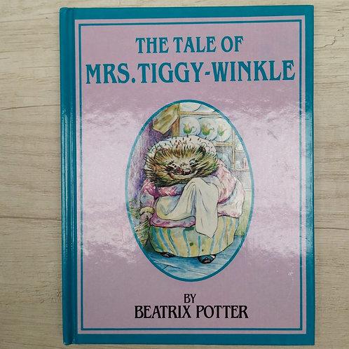 "Cuentos de Peter Rabbit, "" The Tale of Mrs. Tiggy-Winkle "", 1986-1989 (Ingles)."