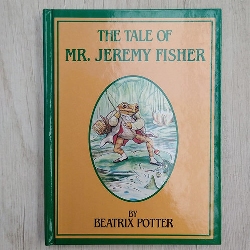 """Cuentos de Peter Rabbit, """" The Tale of MR. Jeremy Fisher"""", 1986-1989 (Ingles"""