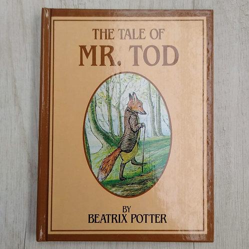 "Cuentos de Peter Rabbit, "" The Tale of Mr. Tod "", 1986-1989 (Ingles)."