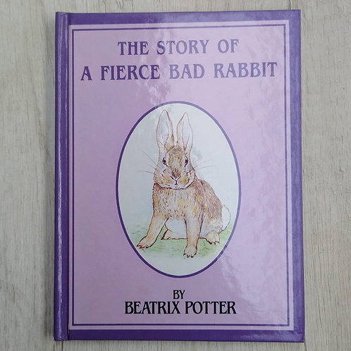 "Cuentos de Peter Rabbit, "" The Story of A Fierce Bad Rabbit "", 1986-1989 (Ingles"