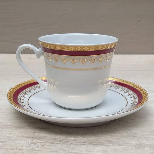 Duo de té , Imperial Porcelain.