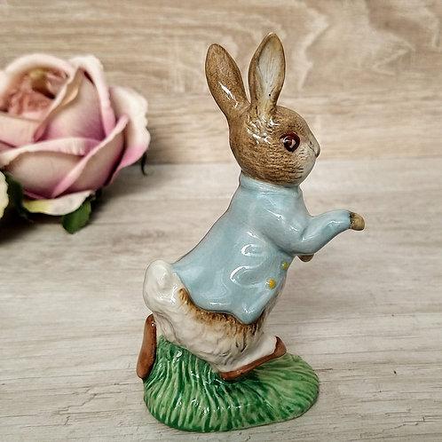 "Figura de Porcelana ""Peter Rabbit"", Royal Albert 1989"