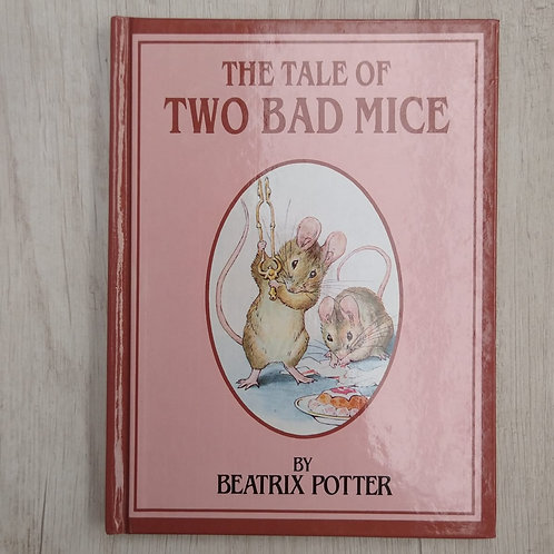 """Cuentos de Peter Rabbit, """" The Tale of Two Bad Mice """", 1986-1989 (Ingles)."""