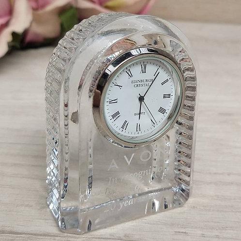 """Reloj de """"Crystal Edinburgh"""" para Avon"""