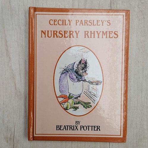 "Cuentos de Peter Rabbit, "" Cecily Parsley's Nursery Rhymes "", 1986-1989 (Ingles)"