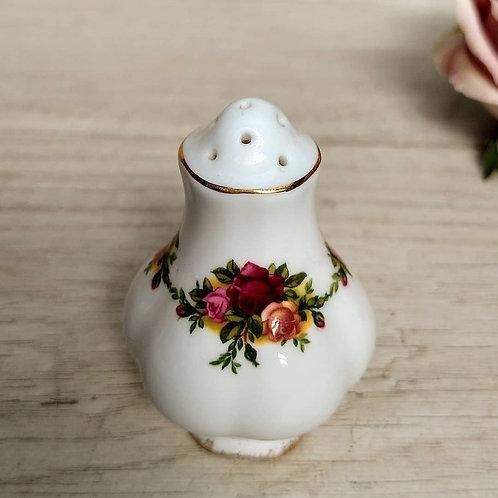 Salero, Old Country Roses, Royal Albert.