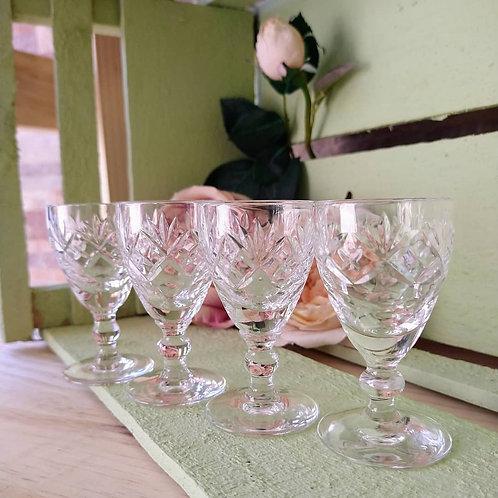 """Set de Copas cristal de """"Royal Doulton"""""""