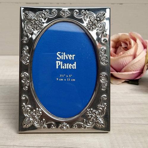 Marco de foto, Silver Plated.