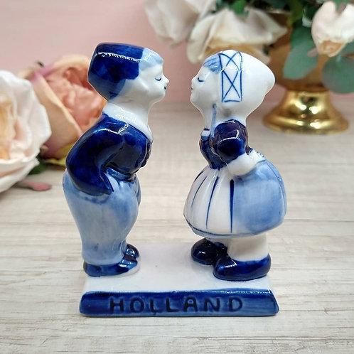 """Figura porcelana, """"Delft Blue"""""""