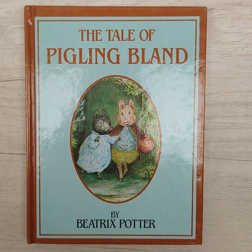 """Cuentos de Peter Rabbit, """"The Tale of Pigling Bland"""", 1986-1989 (Ingles)."""
