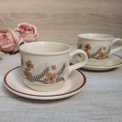 Set de té para dos, Kilncraft England.