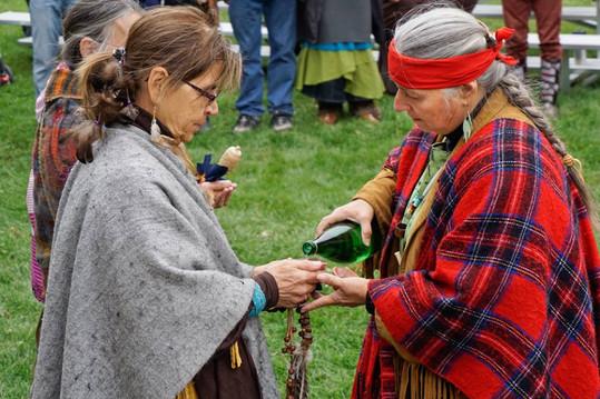 Cérémonie de l'eau Festival de la Paix 2015
