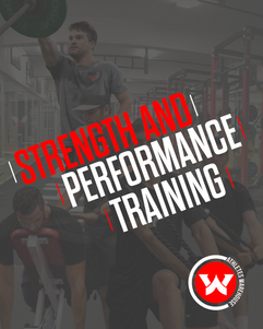 STRENGTH & PERFORMANCE TRAINING