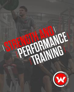 STRENGTH & PERFORMANCE TRAINING