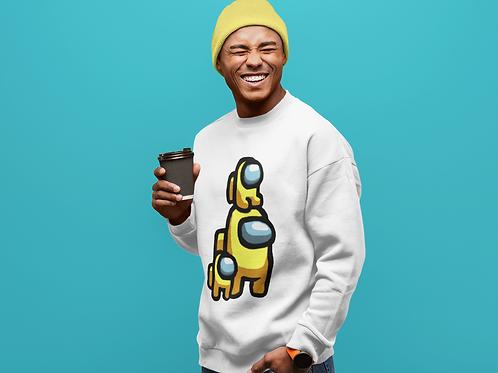 Among Us - Yellow Family Sweatshirt