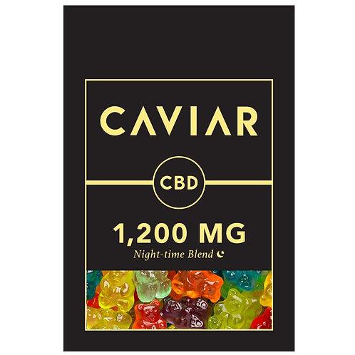 1200mg Melatonin Clear Bears