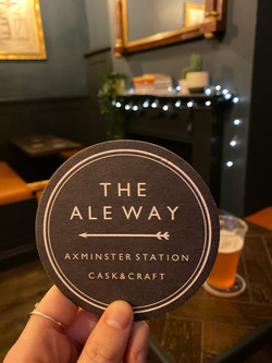 The Ale Way Axminster Station Seating