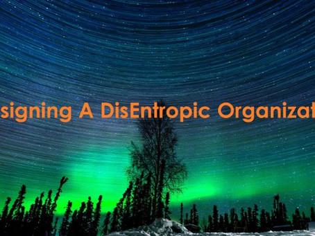 Designing a Disentropic Organization