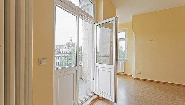 Wohnung mit Balkon Nürnberger Straße Dre
