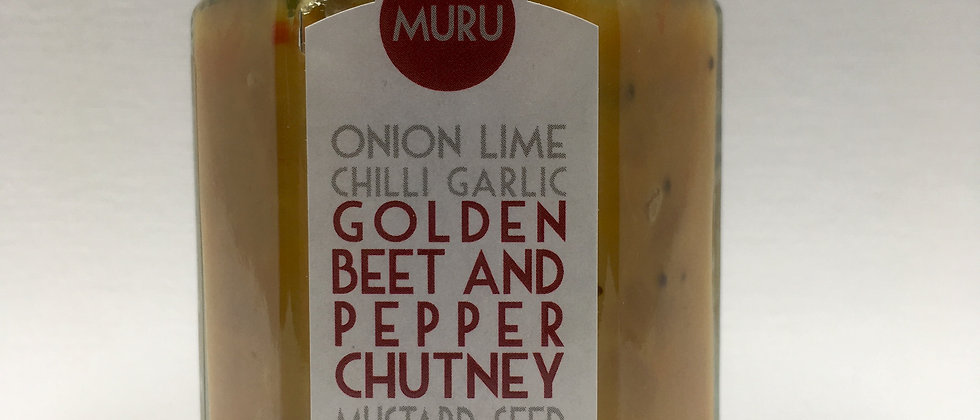 Golden Beetroot and Pepper Chutney 120g