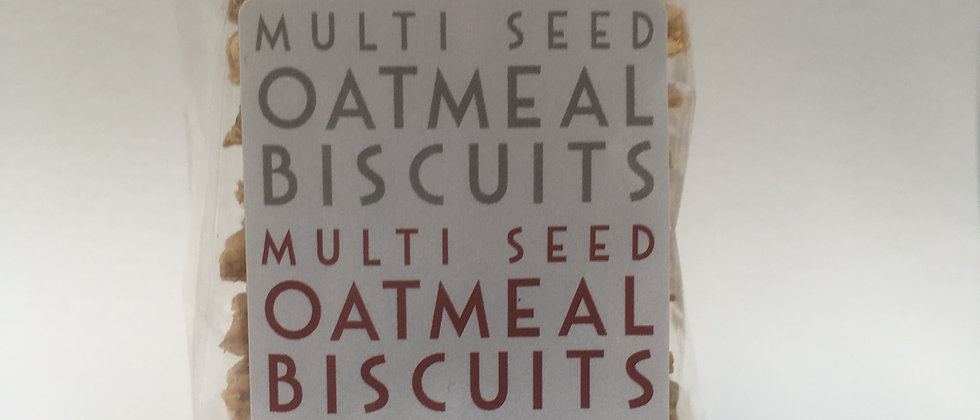 Multi Seed Oatmeal Biscuits 100g