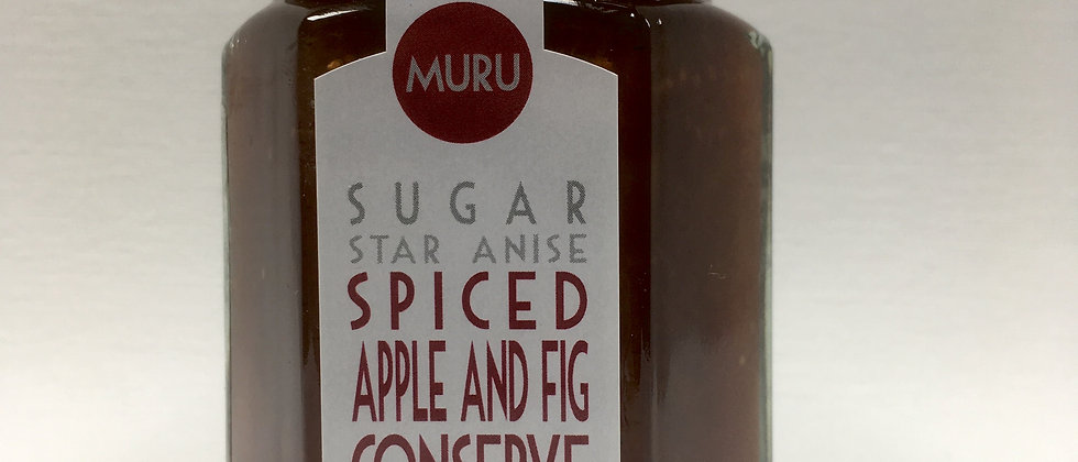 Spiced Apple and Fig Conserve 135g